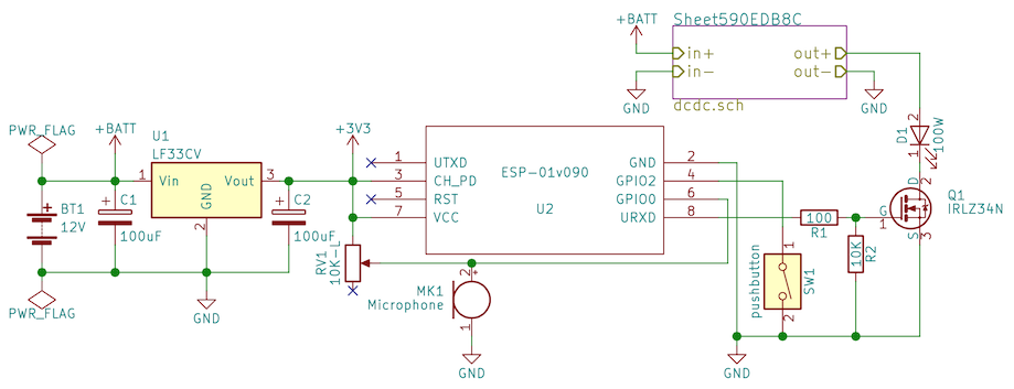f0led schematics